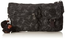 Kipling Black Pattern Bum Bag