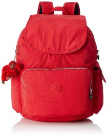Kipling Vibrant Red Backpack