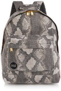 MiPac Snake Print Backpack