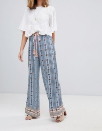 Sisters of the Tribe Wide Leg Trouser