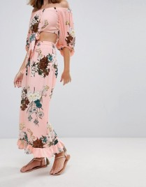 Sisters of the Tribe Floral Wide Leg